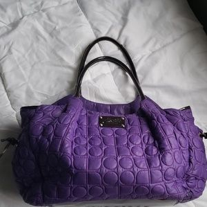 Kate Spade Quilted Stevie Luxury Diaper Bag